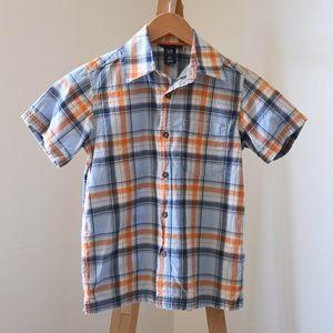 Vintage GAP Kids Plaid Button-Up Shirt